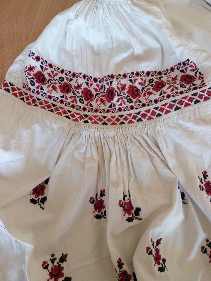 Старовинна жіноча вишиванка. Чернігівщина. Верхня частина ... bca937868dbff