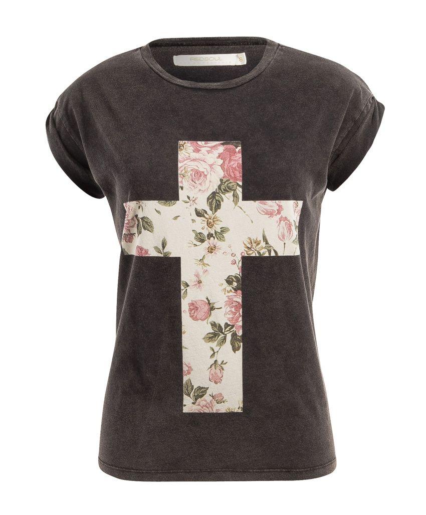 Kleding Kopen Dames.Red Soul T Shirt Ersilia Dames Kleding Kopen Online Bij Van
