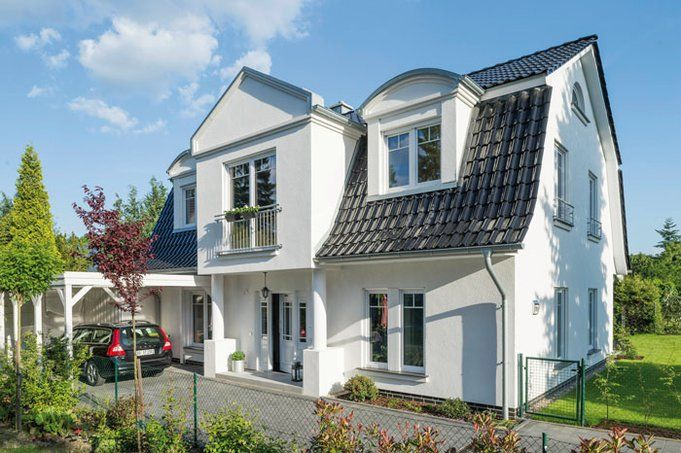 Ein Mansarddach Schafft Zusatzlich Platz Baustil Haus