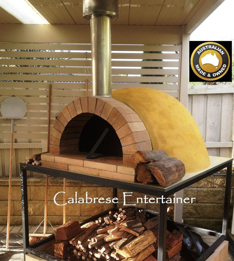 Concrete Dome Home Kits: Details About Pizza Oven Dome Outdoor Woodfired Wood Fired