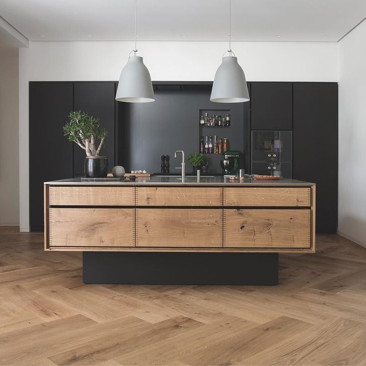 Modern Industrial Kitchen Design: Via @Dinesen Chu On Instagram