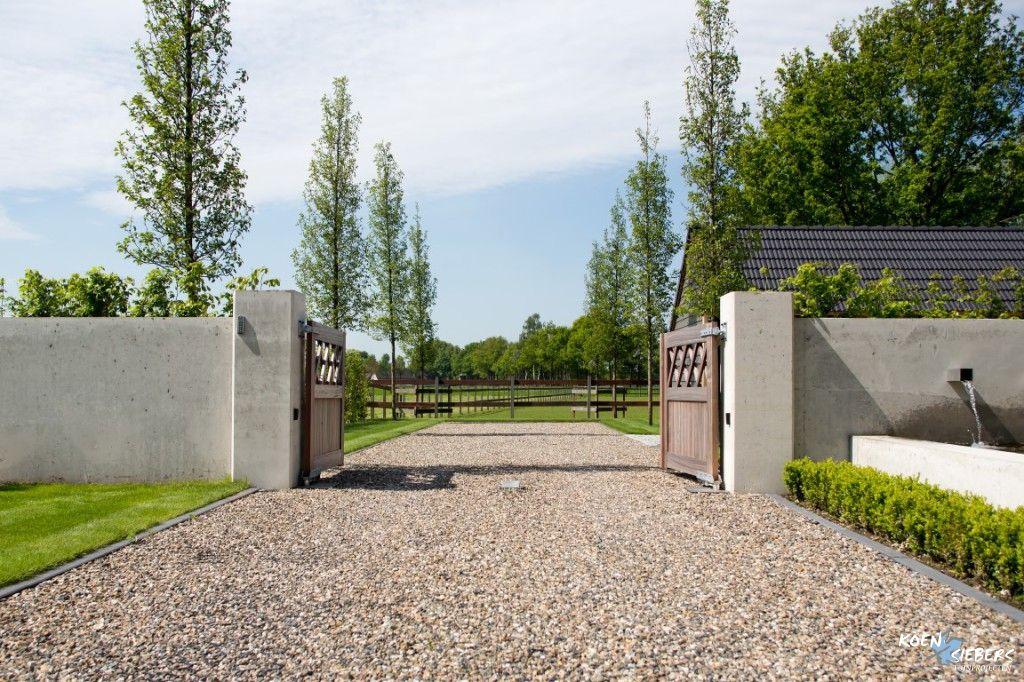Grind oprit poorten pinterest grind oprit poorten en tuin - Tuin oprit plaat ...