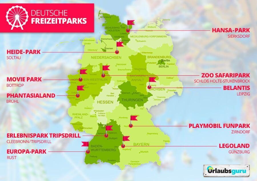 Freizeitparks In Deutschland ᐅ Tickets Infos In 2020 Legoland