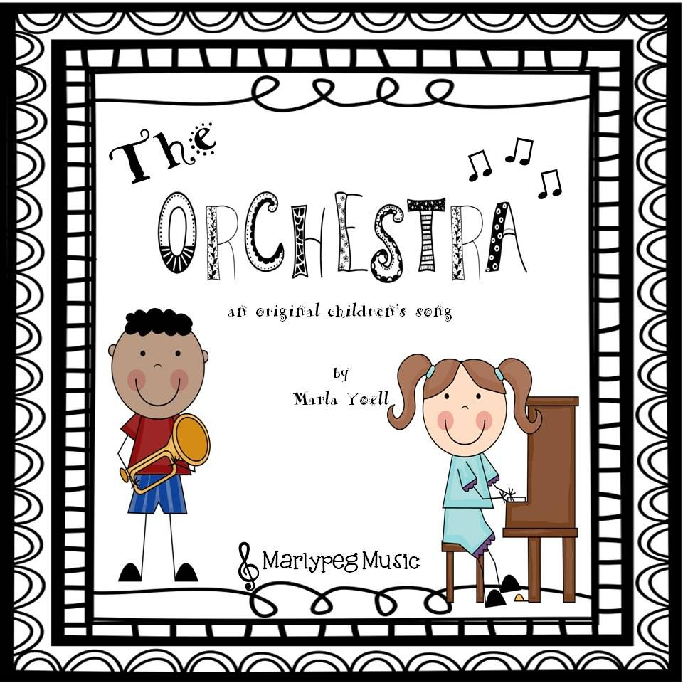 """When singing this upbeat tune (written especially for children in grades K-3) your students will simultaneously learn how to spell """"Orchestra,"""" memorize the families of the orchestra, and imitate their sounds! What a fun and engaging way to learn! If the song is too long for your very youngest students, the chorus will work as a 'stand alone'. This piece is also excellent for the concert setting."""