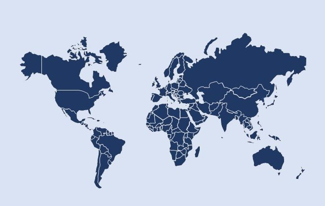 Free world map for PowerPoint (with an editable map of the United ...