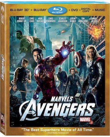 Marvel S The Avengers Blu Ray Hits September 25th Ios Second