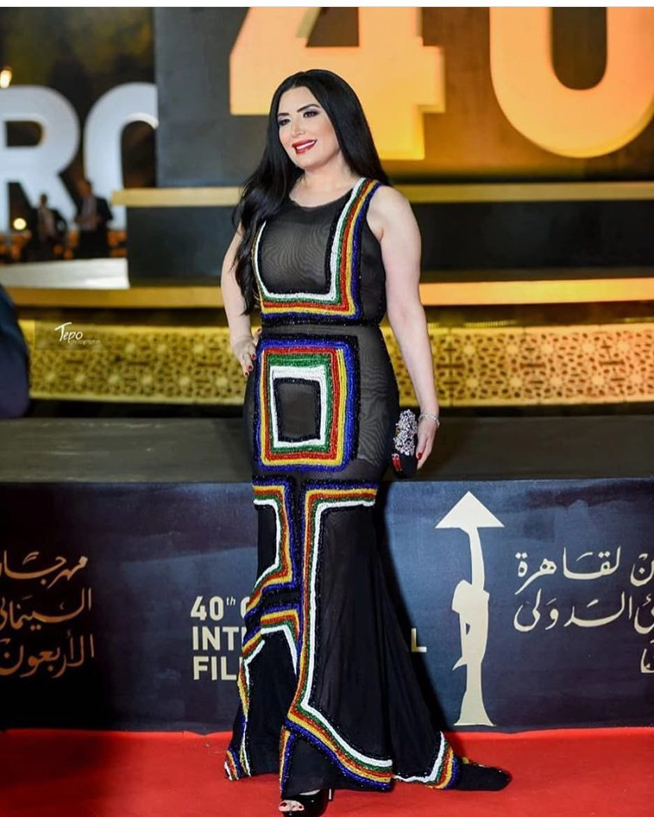 Fashion Police Egypt On Instagram The Pretty Abeer Sabry Is Literally From Out Of This World In This Geometric Transparent Fashion Police Tulle Dress Fashion