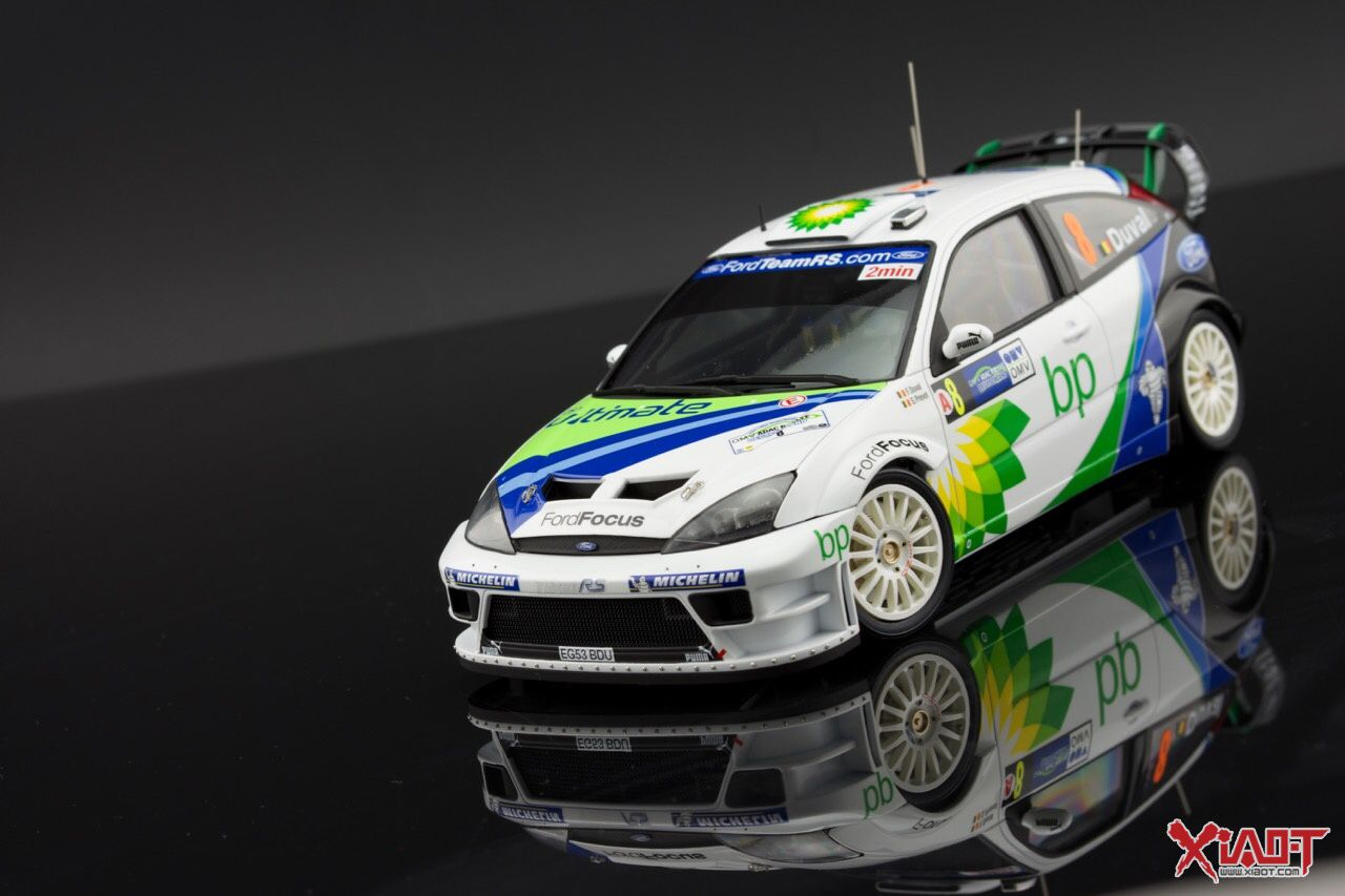 Scale Model Rally Racing Car 1 24 Hasegawa Ford Focus Rs Wrc 04