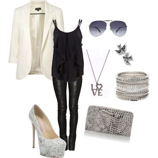 Rocker Chic! - Click image to find more Women's Fashion Pinterest pins