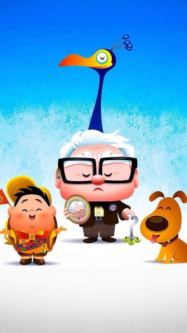 Fond D Ecran La Haut Fond D Ecran Iphone Disney La Haut Pixar Fond D Ecran Dessin Anime