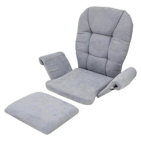 Home Decorators Collection Shermag Universal Cushion Set Gray Find Out Mo Glider Replacement Cushions Nursery Rocking Chair Cushion Rocking Chair Cushions
