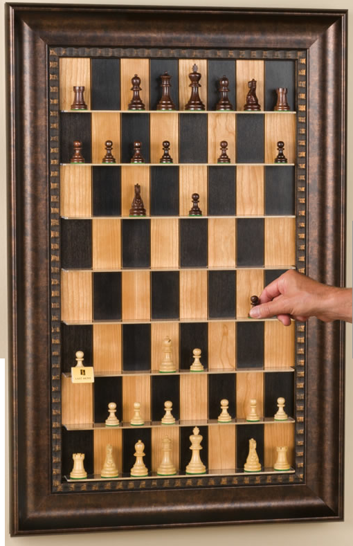 Photo of DIY Vertical Chess Set
