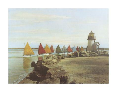 The Rainbow Fleet Giclee Print by H. Marshall Gardiner at Art.com
