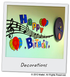 Music Birthday Party Theme - Plan, Ideas, Games & Activities : Piano sandwiches!
