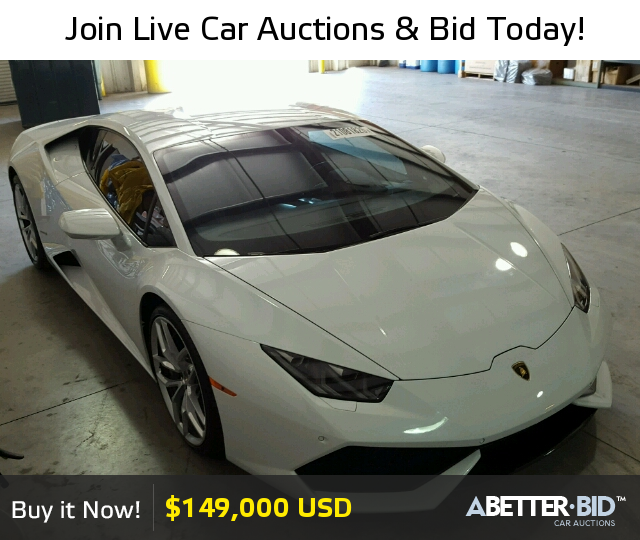 Salvage Lamborghini Huracan For Sale