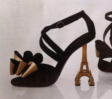 daf6a1a3a0489 Eiffel Tower Heels.  -)   Heels   Pinterest   Tower, Crazy shoes and ...