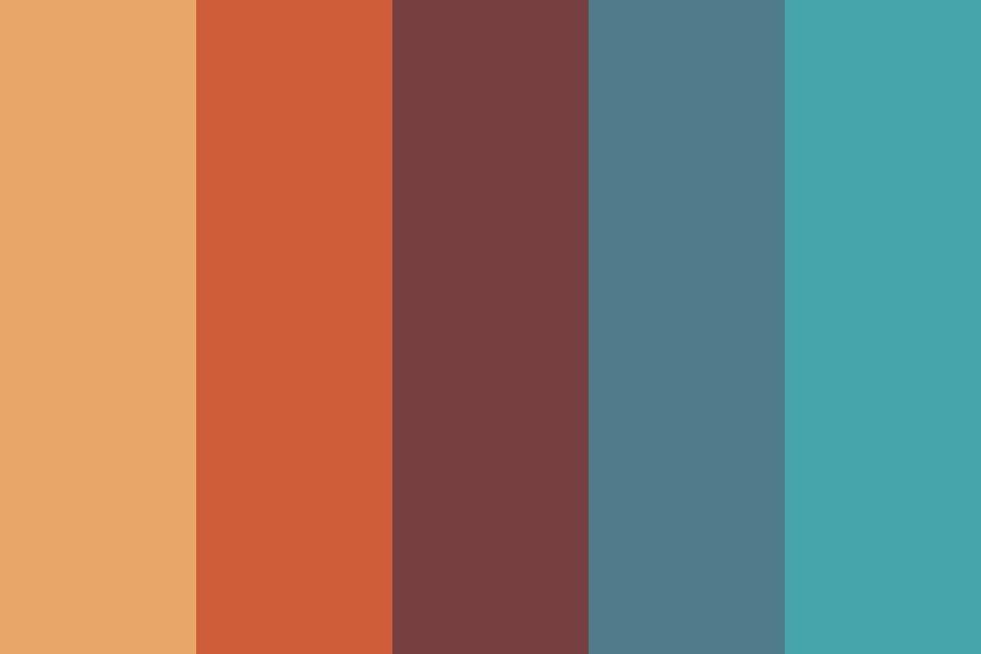Autumn Sunrise Color Palette
