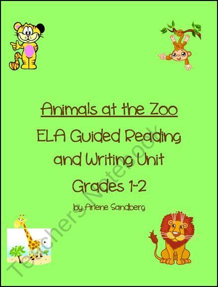 Animals at the Zoo product from LMN-Tree on TeachersNotebook.com