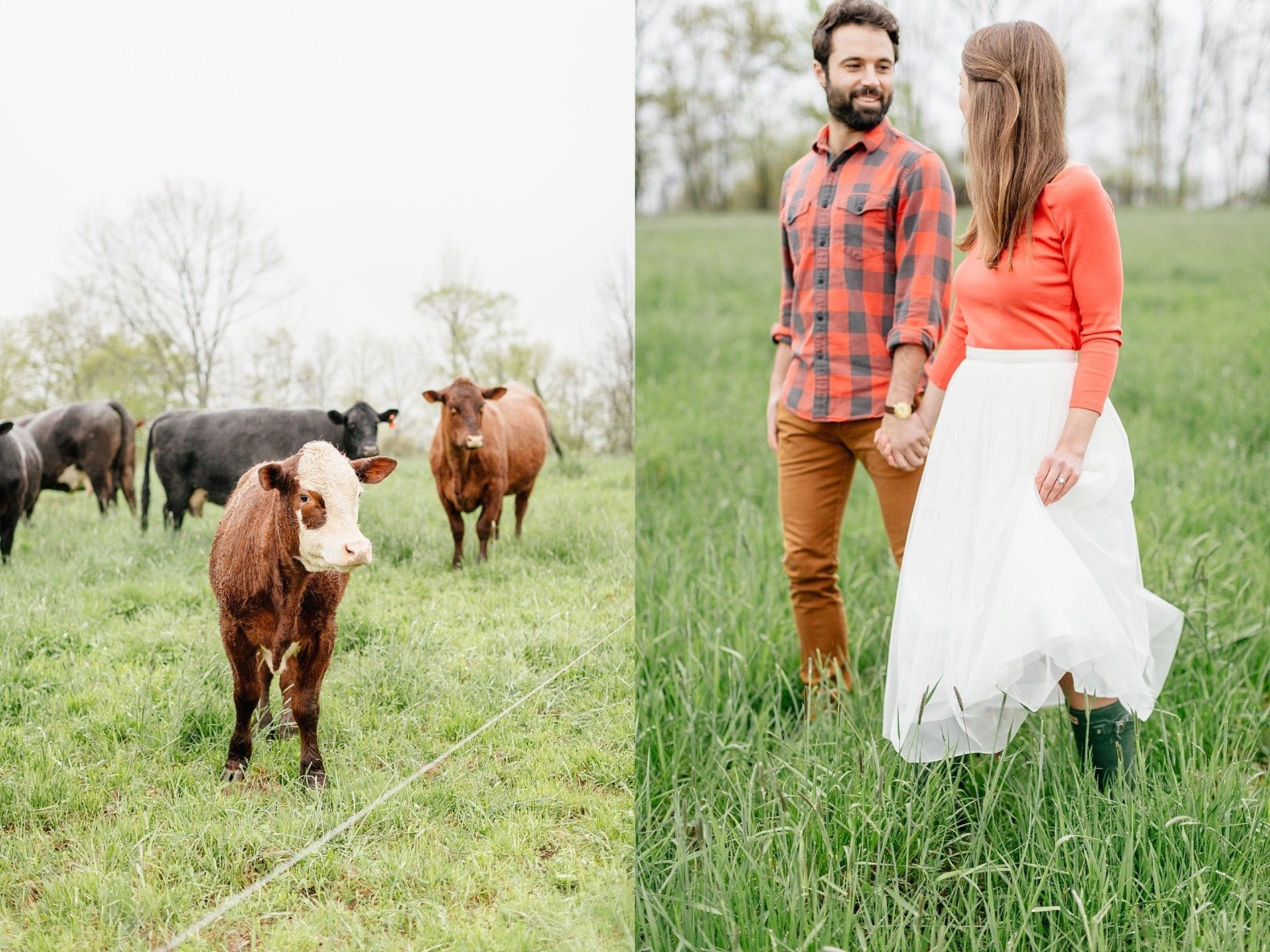 rainy day engagement session at fox hill farm sarah canning photography in 2020 engagement session philadelphia wedding photographer rainy day pinterest