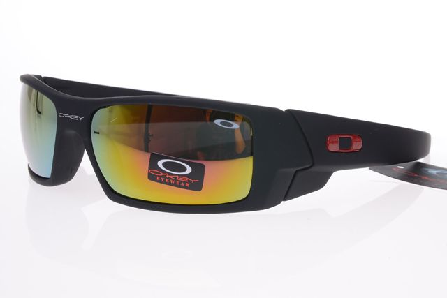 Oakley Limited Editions Sunglasses Black Frame Colorful Lens 0741