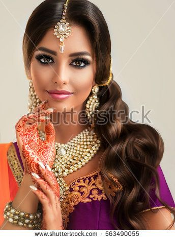 Beautiful hindu women