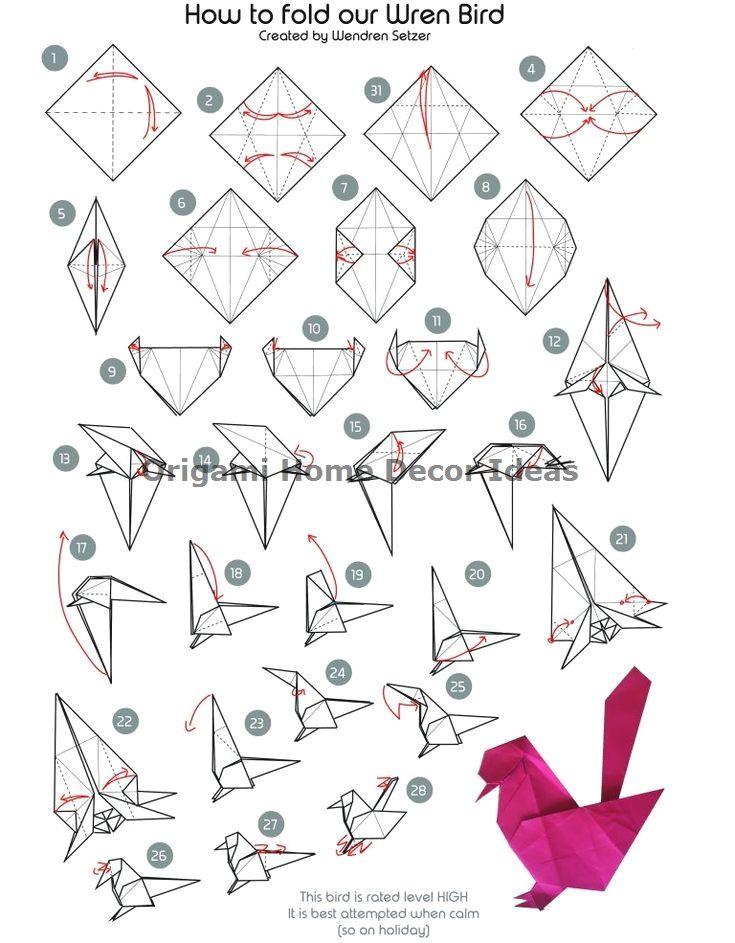 Photo of Easy DIY Origami Home Decor Ideas