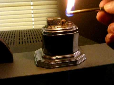 Table Lighters Collectors Guide Ronson Touch Tip Octette Lighter