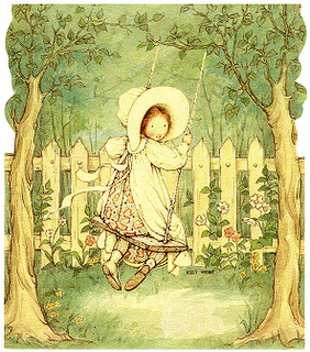Holly Hobbie.  I loved this when I was a little girl :)