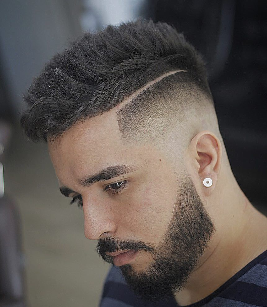 Men's hard part haircut how to style a hard part  awesome hard part haircuts  menus hair