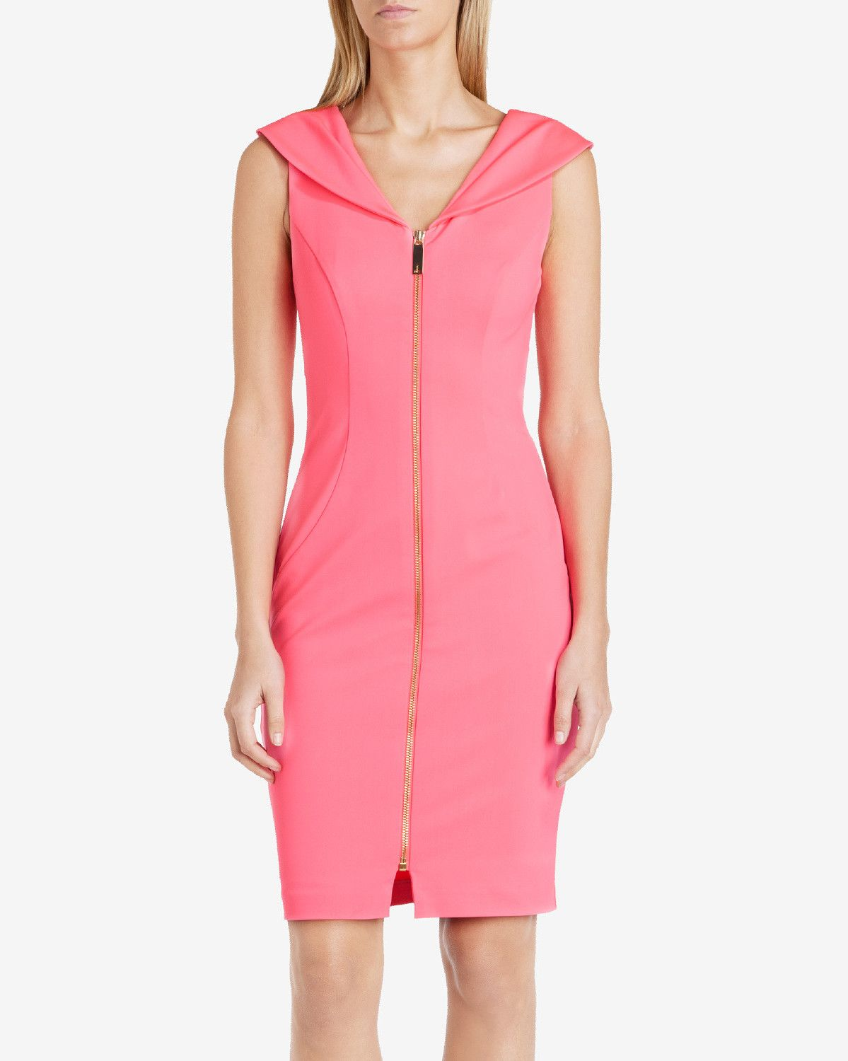 Ted Baker Bodycon dress Coral
