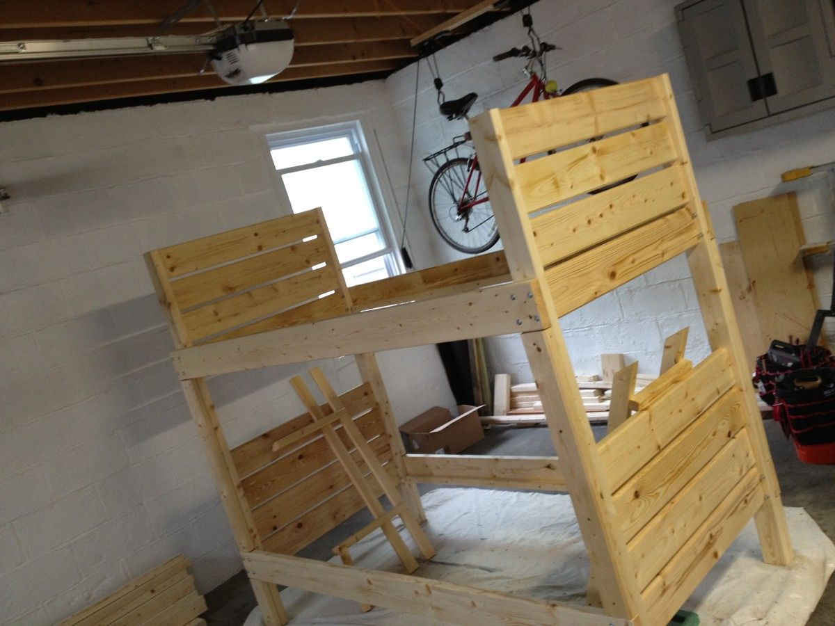 diy bunk bed Sturdy Bunk Beds Do It Yourself Home