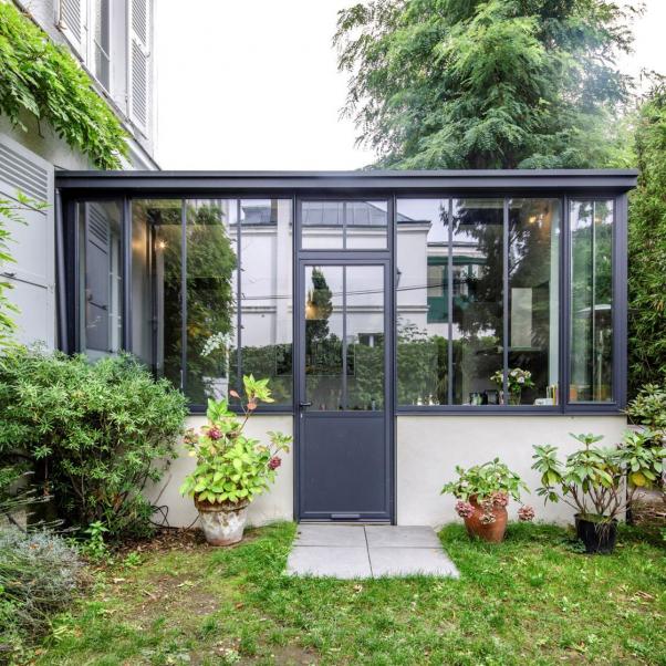 Veranda die dekorative Erweiterung des Hauses: Femme Actuelle Le MAG #patio #patio   – Patio