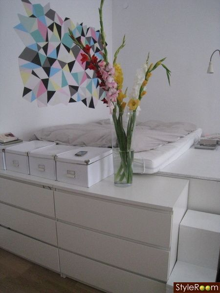 Schlafempore Wohnung Pinterest Walls, Ikea hack and Bedrooms