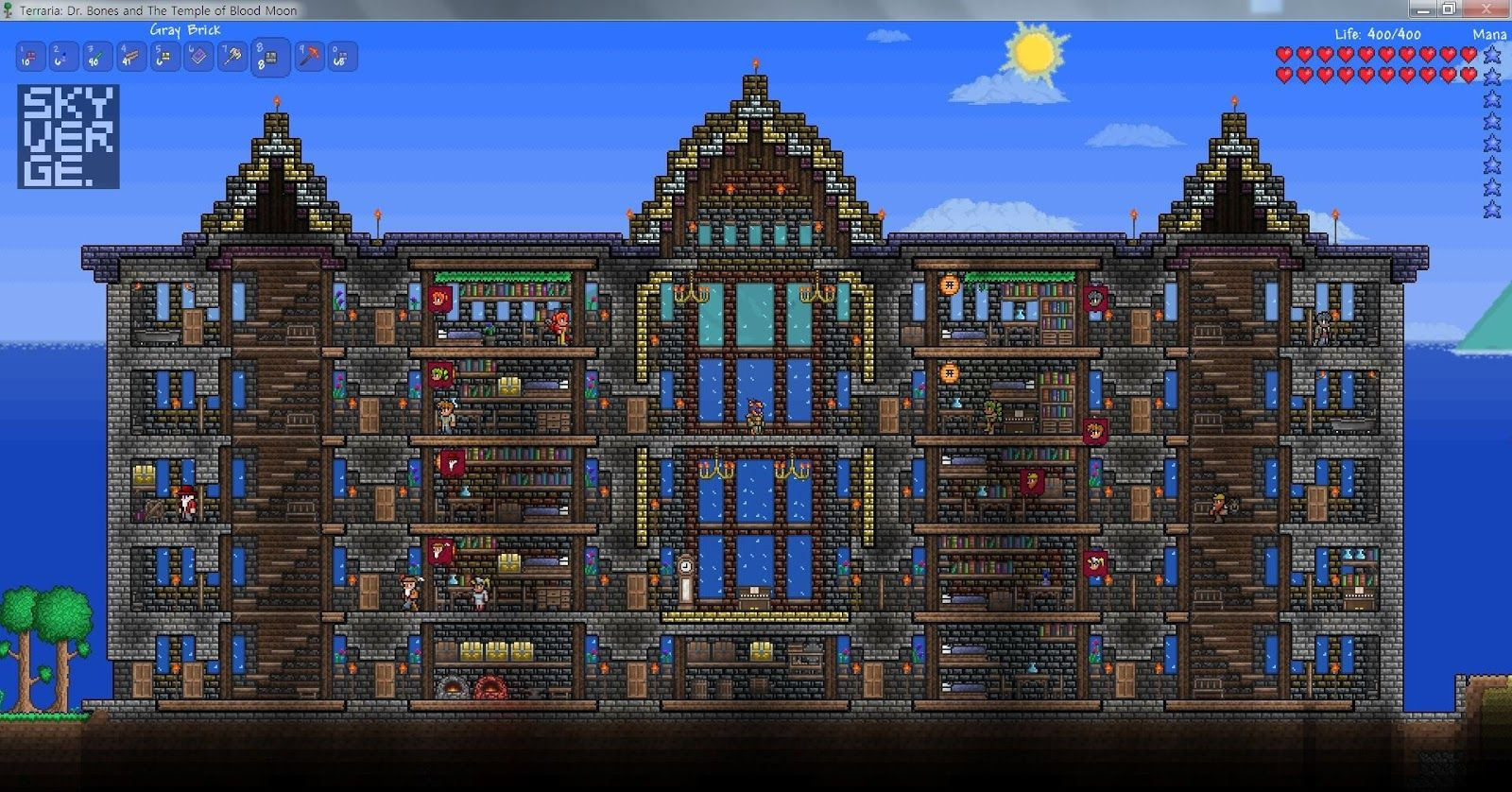 Pin by Matthew on Terraria house ideas | Small living rooms
