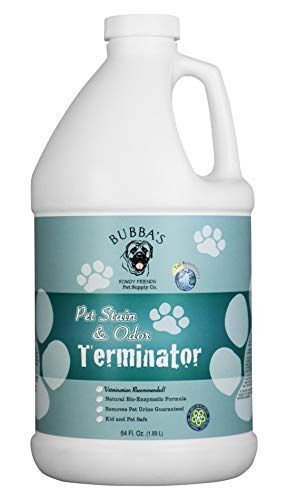 BUBBAS Super Strength Commercial Enzyme Cleaner - Pet Odor Eliminator | Enzymatic Stain Remover | Remove Dog Cat Urine Smell from Carpet, Rug or Hardwood Floor and Other Surfaces (64oz) #64oz #BUBBAS #carpet #carpet stain remover dog #Cat #cleaner #Commercial #dog #Eliminator #Enzymatic #Enzyme #Floor #Hardwood #odor #Pet #Remove #remover #Rug #smell #Stain #Strength #Super #Surfaces #urine