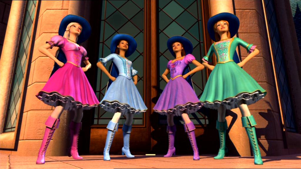 Barbie And The Three Musketeers Photo 3m Barbie Movies Barbie Dress Barbie Costume