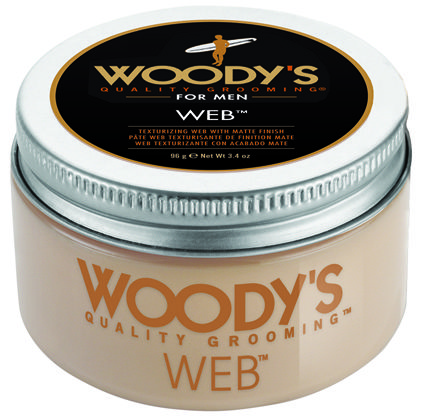 Men's Hair Styling Cream Woody's  Web Texture Web With Matte Finish #woodysformen #woodys
