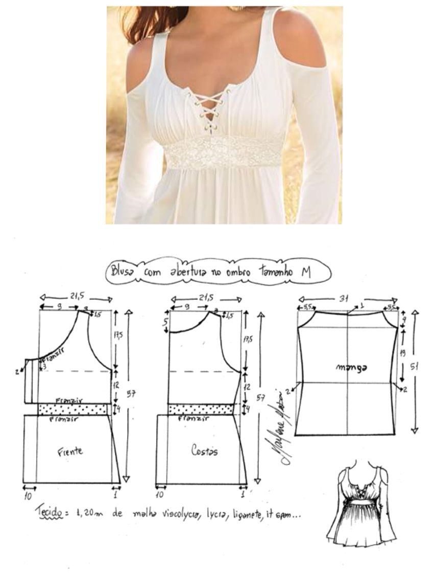 Patrones top | awesome ideas! | Pinterest | Sewing, Sewing patterns ...