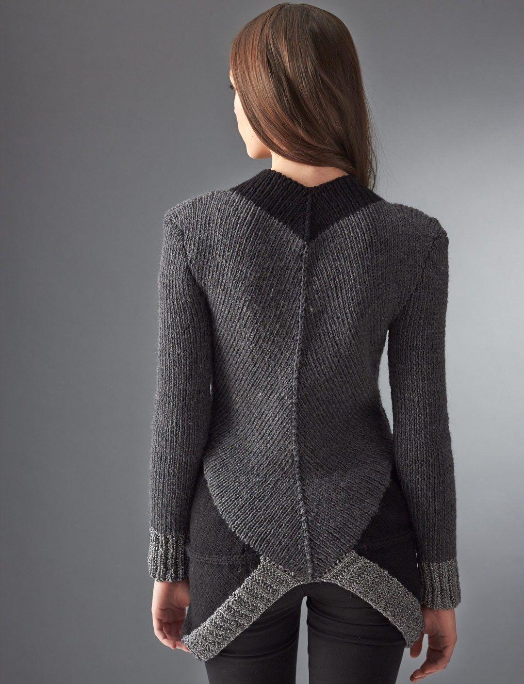 Distrito 12 del suéter - patrones que hacen punto - Patrones ...