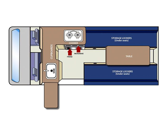 toyota hiace campervan layout Google Search Toyota