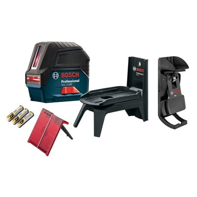 Bosch Laser Level Gcl 2 160 Self Leveling Cross Line Laser With Plumb Points Laser Levels Red Beam Bosch