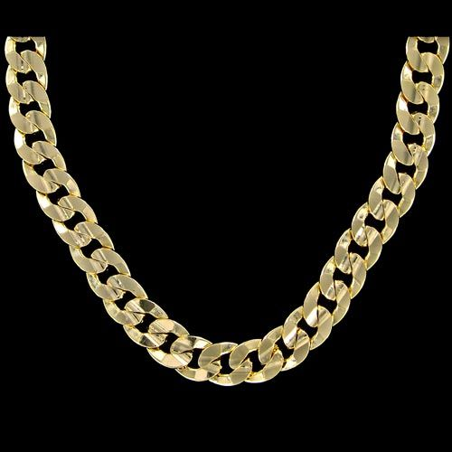 Miami Cuban 3X IP Gold Stainless Steel Chain 8MM Chains Stainless