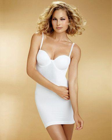 The Seamless Slenderizer Bra Slip w/ Molded Cups, BodyWrap Shapewear  #womensfashion2013 #basics
