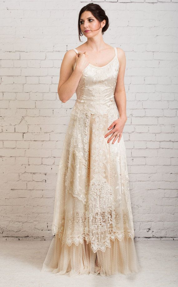 Boho Wedding Dress Casual Wedding Dress Simple Wedding Dress