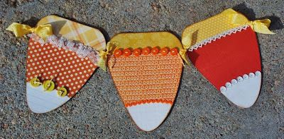 Check out this Corn Candy Banner that @Debbie Fisher created!