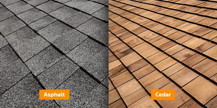 Cedar Or Asphalt Shingles Asphalt Roofing Shingles Are Cost Effective Easy To Install Fully Recyclable And Roof Installation Asphalt Roof Shingles Roofing