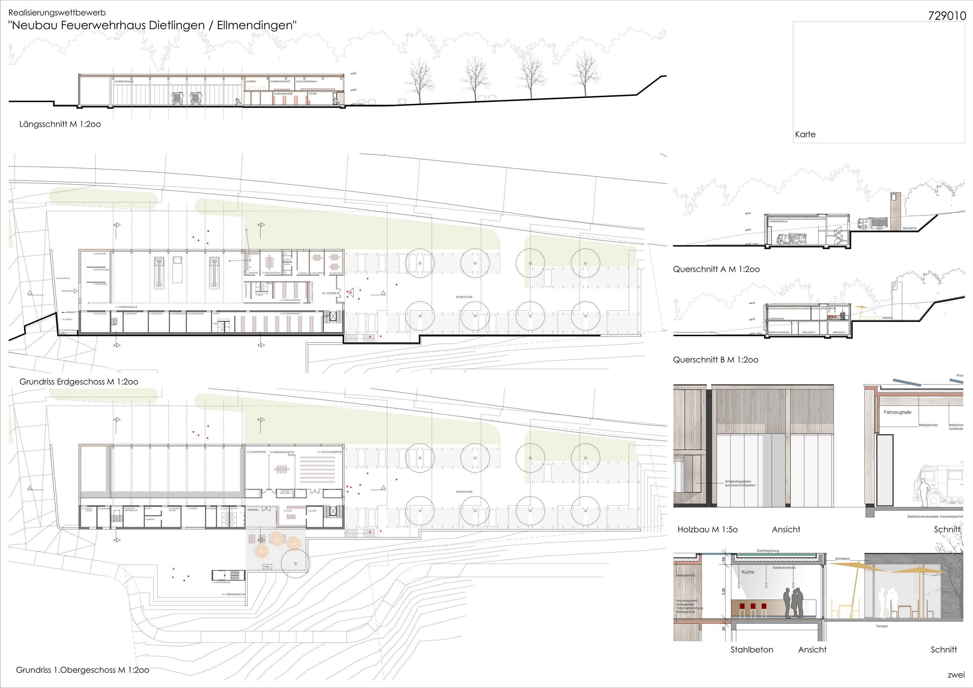 Neubau Feuerwehrhaus Dietlingen / Ellmendingen Gemeinde