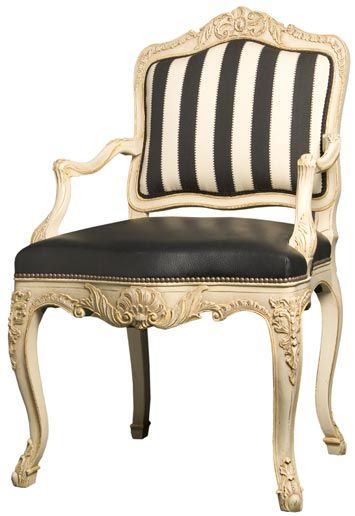 Louis XV Seat STRIPPED Idée Fauteuil Pinterest Slate - Fauteuil louis 15