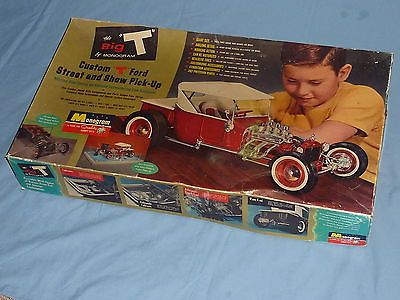 Vintage Monogram Big T 1 8 Scale Model T Kit New In Open Box
