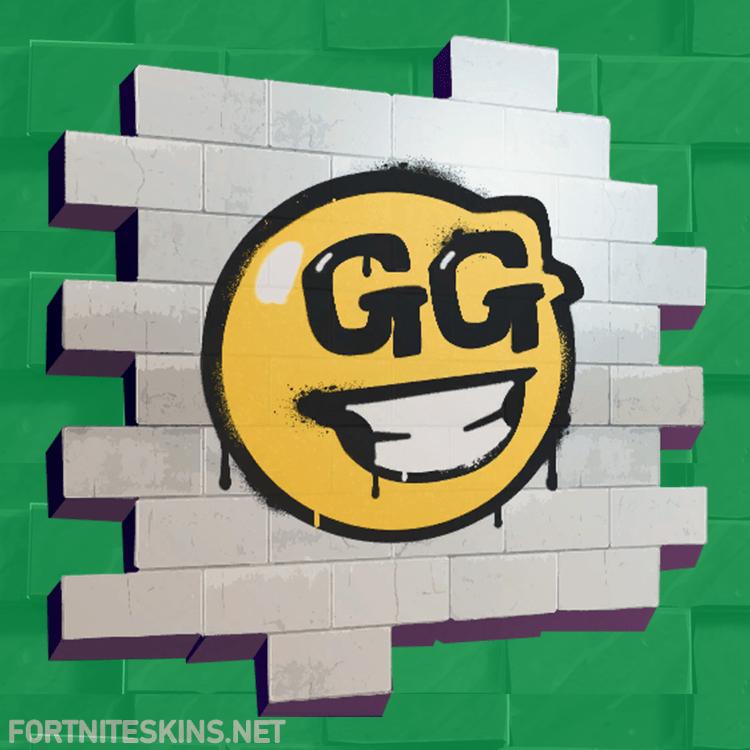 GG Smiley | Fortnite Sprays | Painting, Halloween makeup